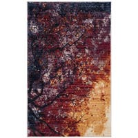 Safavieh Calista Abstract Purple/ Red Area Rug - 3'x 5'