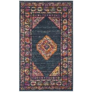 Safavieh Madison Bohemian Oriental Blue/ Purple Area Rug (3'x 5')