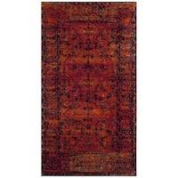 Safavieh Vintage Hamadan Vintage Traditional Oriental Orange Area Rug - 2'2 x 4'