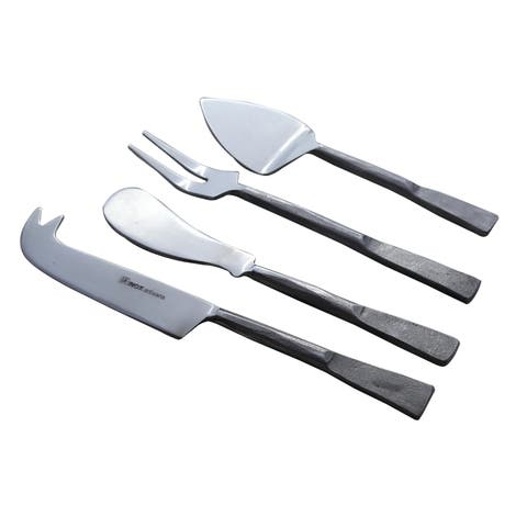 Inox Celia Design 4-piece Nascent Steel Cheese Tools Accessories Set - N/A