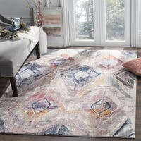 Safavieh Bristol Bohemian Purple/ Grey Area Rug - 7' Square