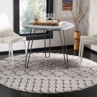 Safavieh Sparta Shag Contemporary Cream Runner Rug - 2'3 x 8'
