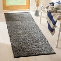 Safavieh Vintage Leather Modern Hand-Woven Grey Runner Rug - 2'3 x 6'