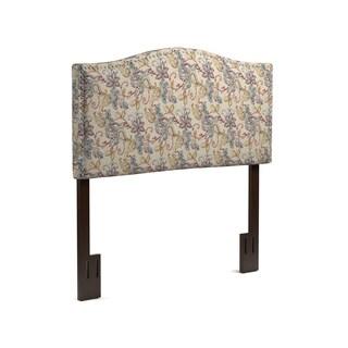 Handy Living Noleta Full/Queen Multi Floral Upholstered Headboard