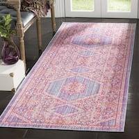 Safavieh Windsor Cotton Purple Runner Rug (3'x 10')