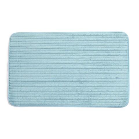 Ariana Collection Plush Memory Foam Anti-Fatigue Bath Mat