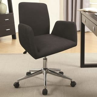 Decorative Design Dark Grey Adjustable Executive Swivel Office Chair|https://ak1.ostkcdn.com/images/products/16899388/P23193010.jpg?impolicy=medium