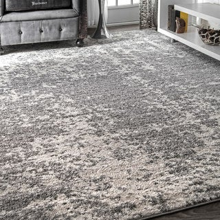 Porch & Den Williamsburg Seigel Granite Mist Shades Grey Area Rug (3' x 5')