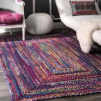 The Curated Nomad Grove Handmade Multicolor Rug (5' x 8')