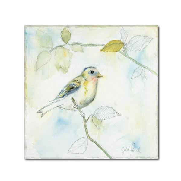Sue Schlabach 'Sketched Songbird I' Canvas Art