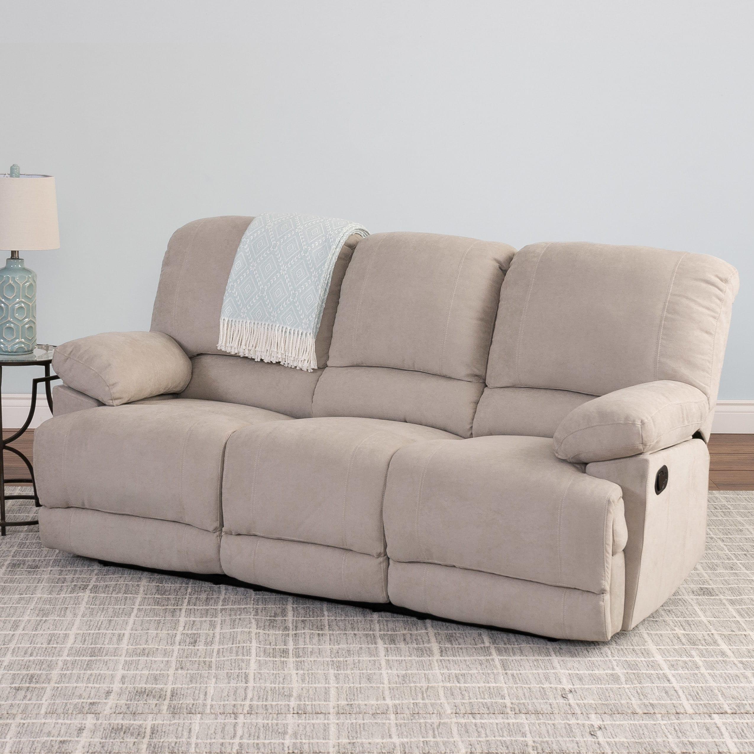Fabric Recliner Sofa Baci Living Room