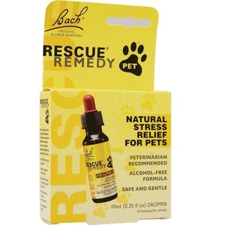Bach Flower Remedies 0.35-ounce Rescue Remedy Pet