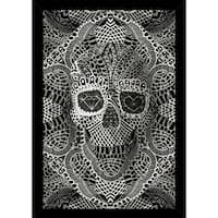 Lace Skull With Choice of Frame (24x36)