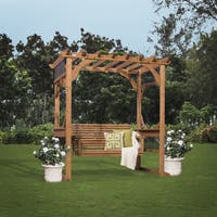 Backyard Discovery Cedar Pergola Swing