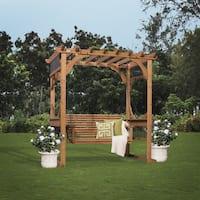 Backyard Discovery Cedar Pergola Swing