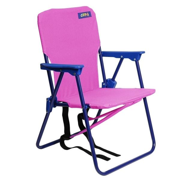 Copa Beach Kids Backpack Beach Chair, Pink