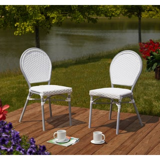 Simple Living Paris Bistro Chairs-Set of 2 - N/A