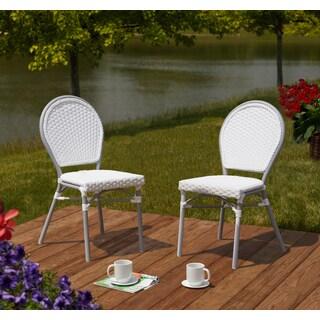 Simple Living Paris Bistro Chairs-Set of 2