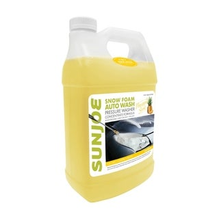 Premium Snow Foam 1-Gal. Cannon Pineapple Pressure Washer Rated Car Wash Soap and Cleaner