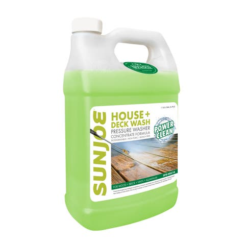 Sun Joe House and Deck All-Purpose Pressure Washer Rated Concentrated Cleaner, 1-Gallon