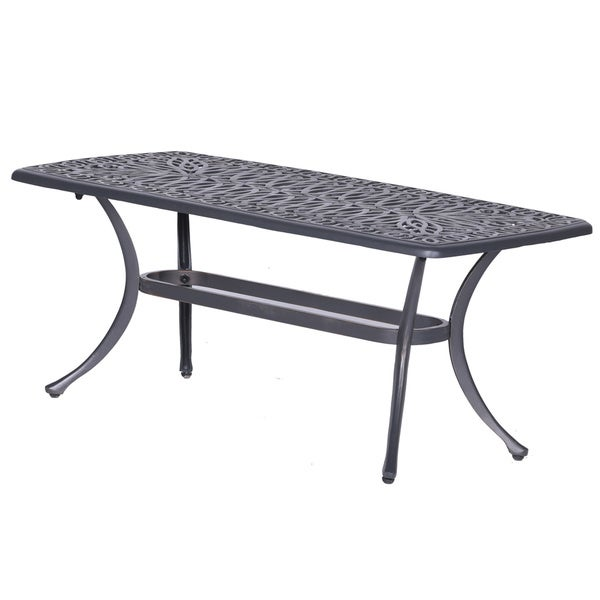 Shop Gracewood Hollow Budi Cast Aluminum Coffee Table