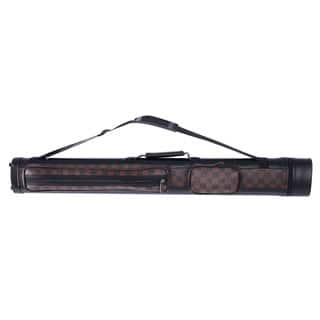 1/2 4-Hole Leather Billiard Pool Cue Case 32.5 inch (Black & Dark Brown)|https://ak1.ostkcdn.com/images/products/16899816/P23193352.jpg?impolicy=medium