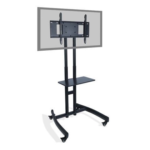 """TV Cart with Stand Mount for 32"""" - 70"""" Flat Screens up to 100 lbs."""