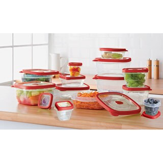 KitchenWorthy 28 PC Storage Set (Case of 4)