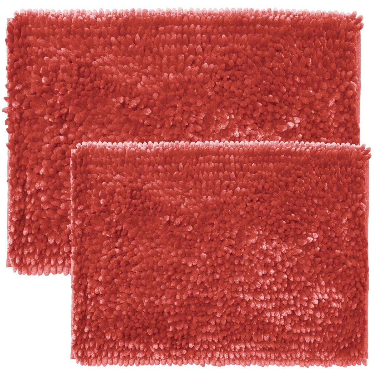 Sweet Home Collection 2 Piece Butter Chenille Bath Rug Set On Sale Overstock 16899971