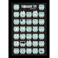 Square Ed With Choice of Frame (24x36)