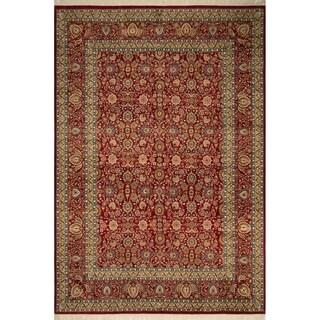 Pak-Persian Wali Yakut Red/Red Rug (10'1 x 14'2)