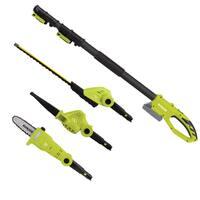 Sun Joe GTS4001C 24-Volt Cordless Lawn Care System (Hedge Trimmer, Pole Saw, Leaf Blower)