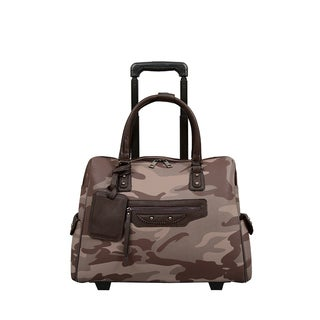 Mellow World Brandy Camouflage 13-inch Laptop Roller Bag