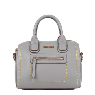 Nikky ZIzi Mini Grey Boston Bag