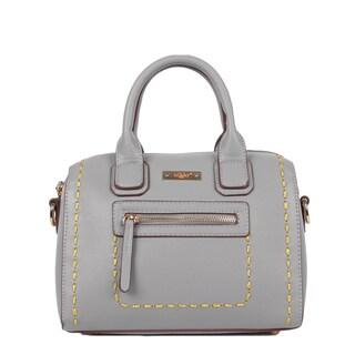 Nikky ZIzi Mini Grey Boston Bag