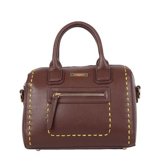 Nikky ZIzi Mini Brown Boston Bag