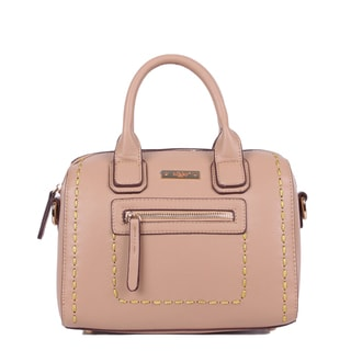 Nikky ZIzi Mini Beige Boston Bag