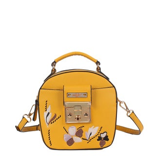 Nikky Ankine Yellow Messenger Bag