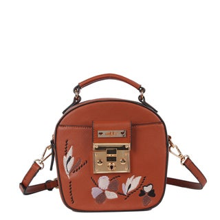 Nikky Ankine Brown Messenger Bag
