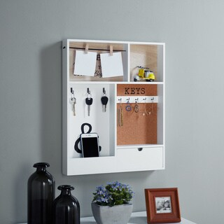 Danya B. Entryway Key/Mail Holder Wall Organizer