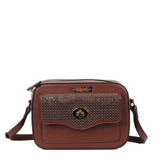 Nikky Kakra Brown Crossbody Handbag