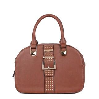 Nikky Bysen Brown Bowler Handbag