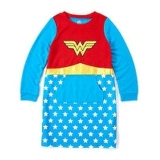 Wonder Woman French Terry Gown
