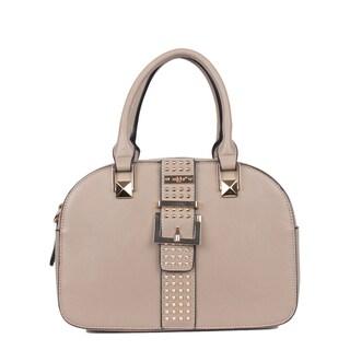 Nikky Bysen Grey Bowler Handbag