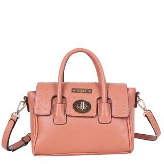Nikky Anaya Pink Crossbody Handbag