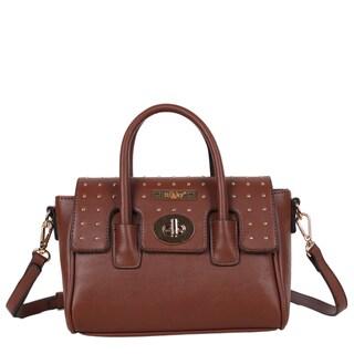 Nikky Anaya Brown Crossbody Handbag