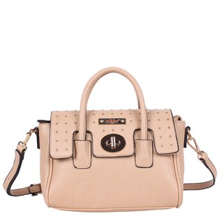 Nikky Anaya Beige Crossbody Handbag