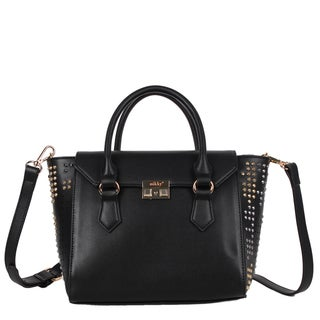 Nikky Stina Black Satchel Handbag
