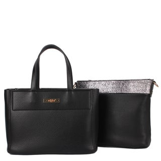 Nikky Multi-Function Small Two Bags in One Black Tote Bag