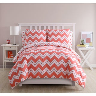 VCNY Home Leigh Chevron 7-piece Bed in a Bag Set